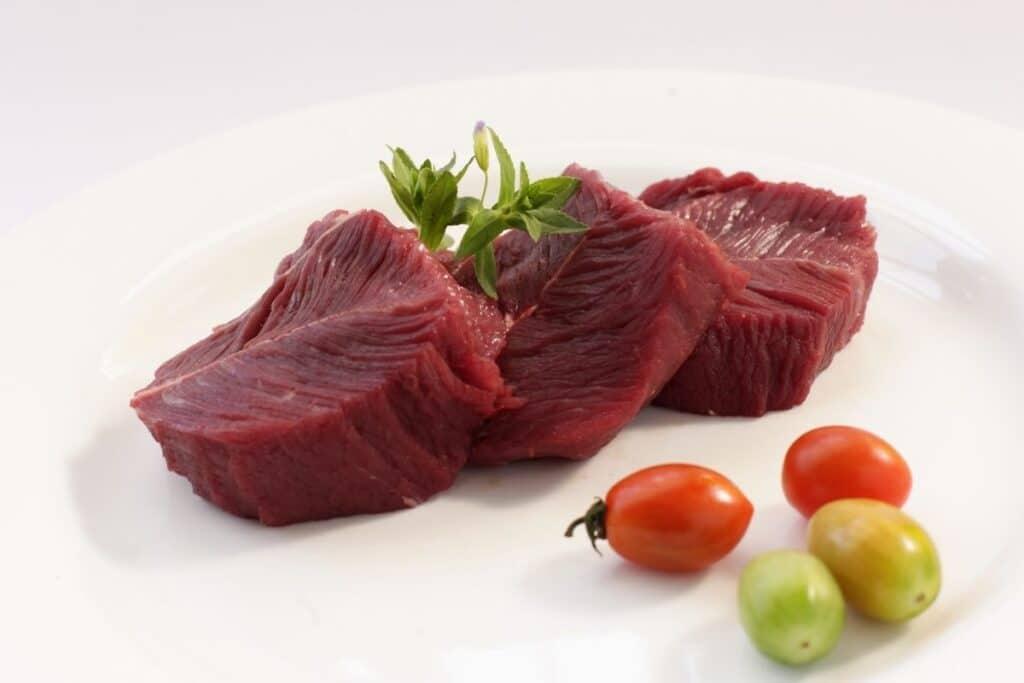 carne di struzzo per cani